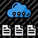 cloud, files, storage, computing, data