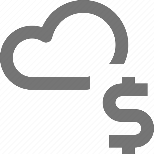 backup, cloud, currency, database, dollar, icloud, money, storage icon