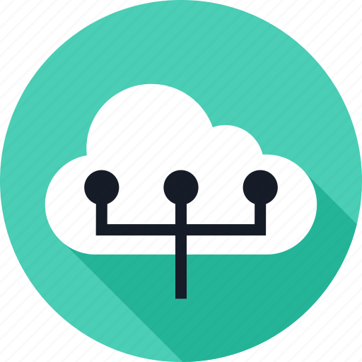 cloud, connect, connection, data, server, weather icon