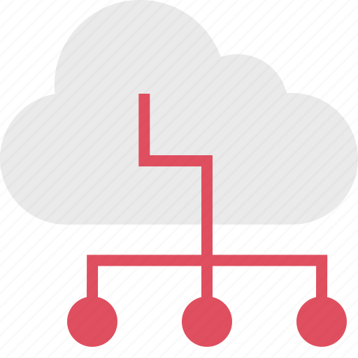 cloud, connection, data, server, up icon