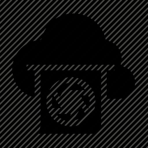 camera, cloud, image, storage icon
