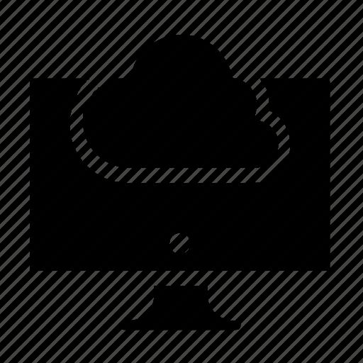 cloud, computer icon
