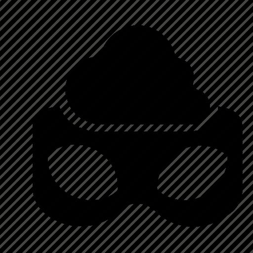 cloud, incognito, privacy icon