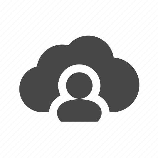 cloud, communicate, connect, people icon