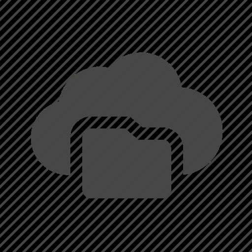 cloud, folder, sharing icon