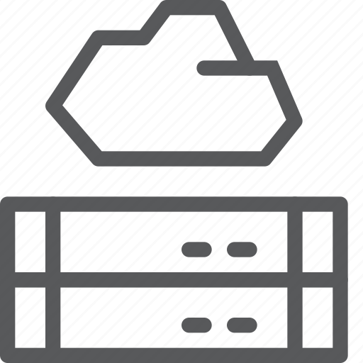 backup, cloud, database, icloud, network, server, storage icon