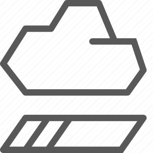 backup, cloud, database, half, icloud, load, storage, transfer icon