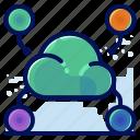 cloud, receive, send, storage, transfer icon
