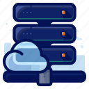 cloud, server, storage
