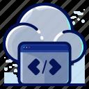 cloud, code, coding, programming, storage
