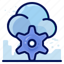 cloud, options, preferences, settings icon