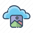 cloud, images, photo, pictures icon