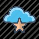cloud, favourite, mark, save