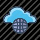 access, cloud, internet, web icon