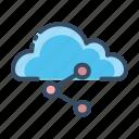 cloud, share, sharing, ui icon