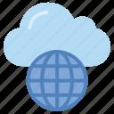 cloud, cloud connectivity, cloud service, data, globe, network, storage