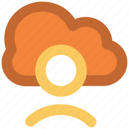 cloud computing, freelance user, information superhighway, networking concept, public account, technology, wireless communication icon