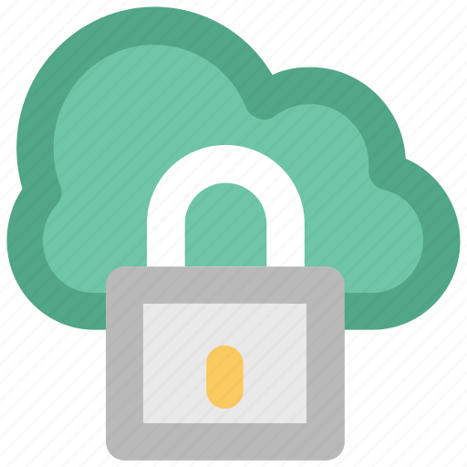 cloud computing, cloud identity, code symbol, network password, privacy code, security concept, verification concept icon