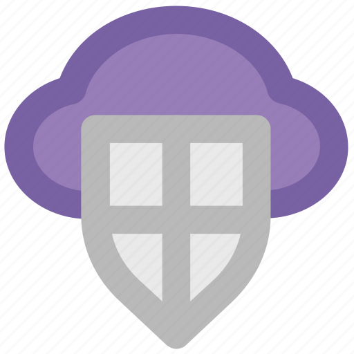 Cloud network, cloud shield, network firewall, network security, storage security, wireless communication, wireless network icon - Download on Iconfinder