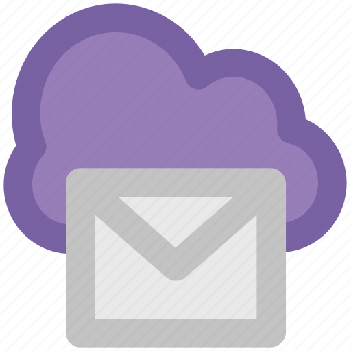 cloud correspondence, cloud email, cloud mail, icloud, modern technology, wireless communication, wireless mailing icon