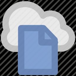 business technology, cloud computing, digital storage, modern technology, sky docs, wireless network, wireless technology icon