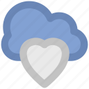 cloud and heart, cloud computing concept, cloud heart, icloud, love sign, online passion, relationship
