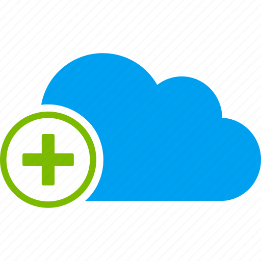 add, cloud, create, medical, medicine, new, plus icon
