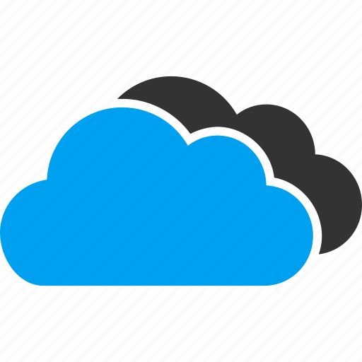 cloud, clouds, cloudy, service, storage, technology, weather forecast icon