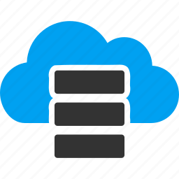 bigdata, cloud server, data, database, db, repository, storage icon