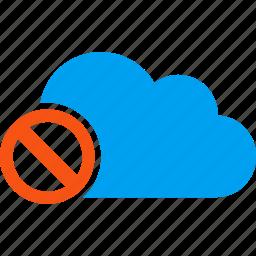 broken, disable, disabled, discard, forbidden, no entry, not available icon