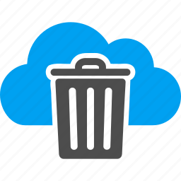 delete, dust, ecology, empty, garbage, recycle bin, trash can icon