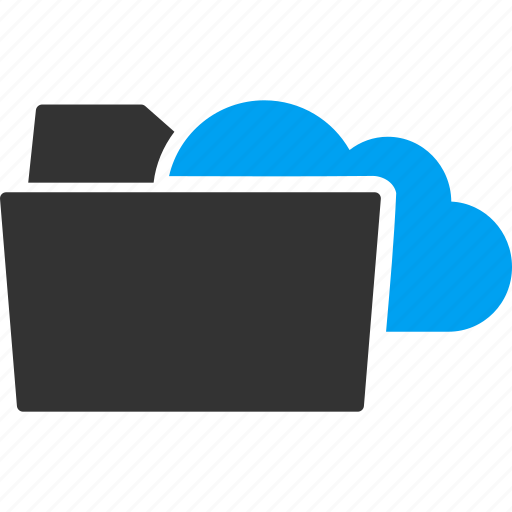 archive, cloud storage, directory, documents, file, files, folder icon