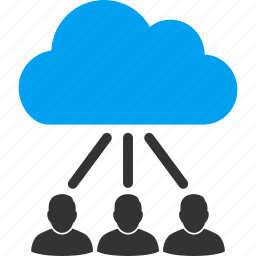 chart, cloud, connections, diagram, graph, hierarchy, structure icon