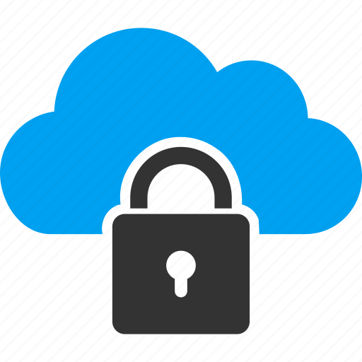 authorize, cloud, lock, password, protection, safe, secure icon