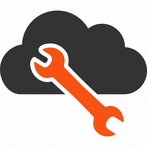 cloud, repair, service, settings, support, system, tools icon