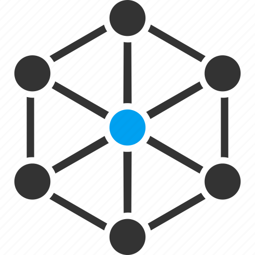 analytics, connection, diagram, ideal graph, link building, links, network structure icon
