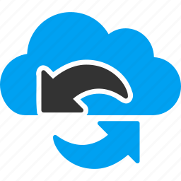cloud, refresh, reload, renew, sync, synchronize, update icon