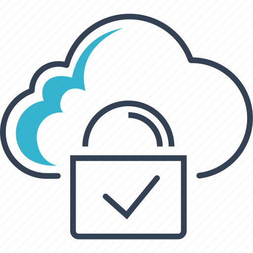 Cloud, computing, lock icon - Download on Iconfinder