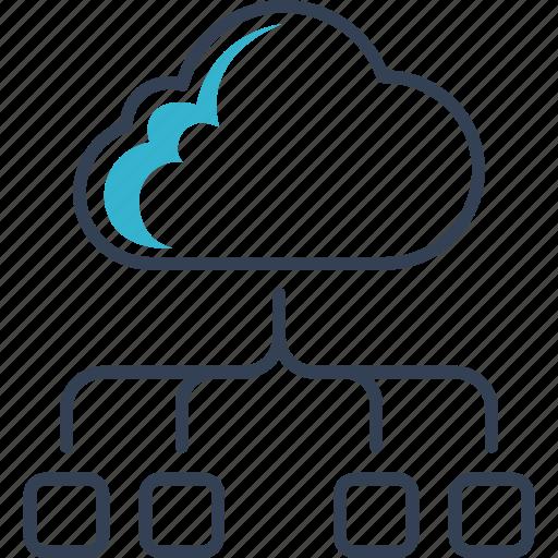 cloud, computing, online icon