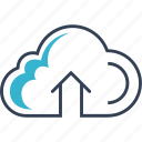 cloud, computing, online, web icon