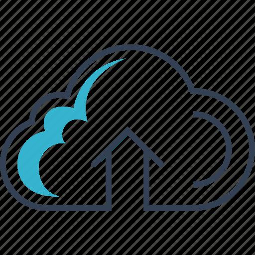 cloud, computing, online, web icon