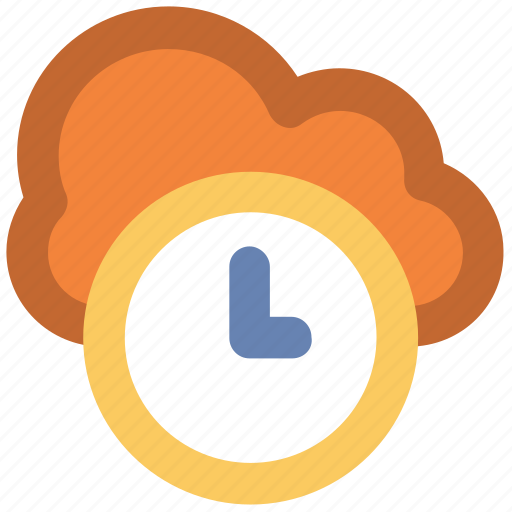 Broadband, clock sign, cloud hosting, cloud network, fast hosting, information technology, network services icon - Download on Iconfinder