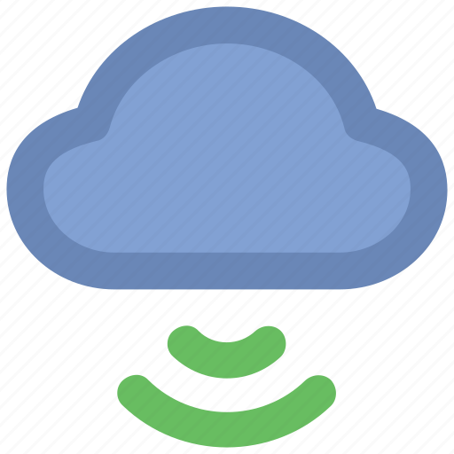Cloud computing concept, cloud network, wifi, wifi zone, wireless fidelity, wireless network, wireless technology icon - Download on Iconfinder