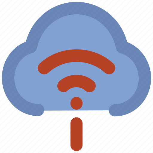 cloud network, cyberspace, data highway, information superhighway, information technology, wireless communication, wireless technology icon