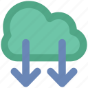 cloud computing, cloud download, cloud informations, cloud internet, cloud technology, downloading, wireless internet icon