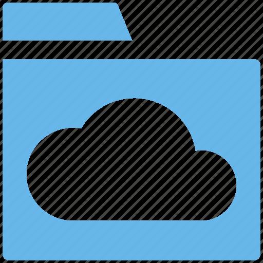 Cloud, cloud computing, cloud folder, files, folder, storage icon - Download on Iconfinder