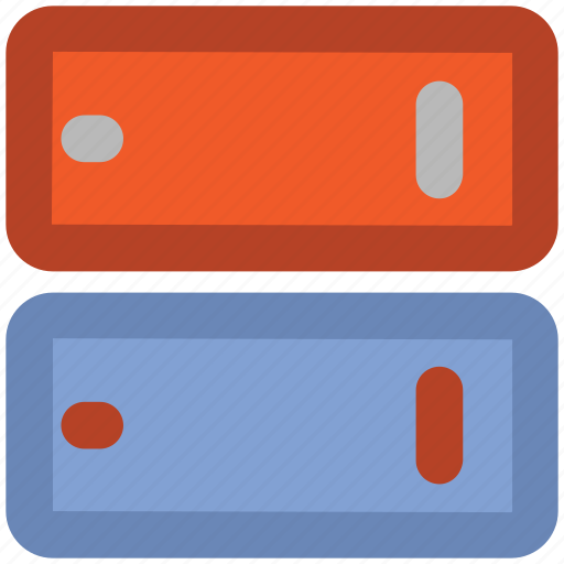 computer server, cyberspace, data bank, data highway, data installation, data storage, information superhighway icon