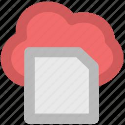 cloud network, digital storage, memory card, modern technology, sd card, technology, wireless communication icon