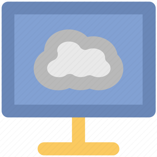 cloud network, computer screen, connectivity, cyberspace, internet coverage, network fidelity, personal computer icon