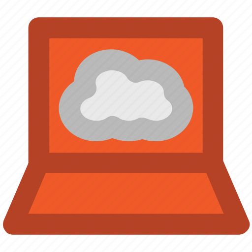 cloud network, connectivity, cyberspace, internet coverage, laptop display, network fidelity, personal computer icon